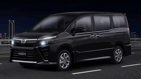 Toyota Voxy Backgrounds by Toyota Voxy Facelift Launched In Indonesia 2 0l Cvt For