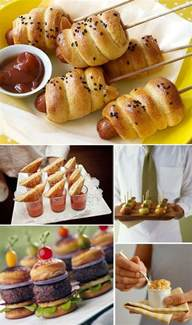 wedding reception food ideas casual wedding food