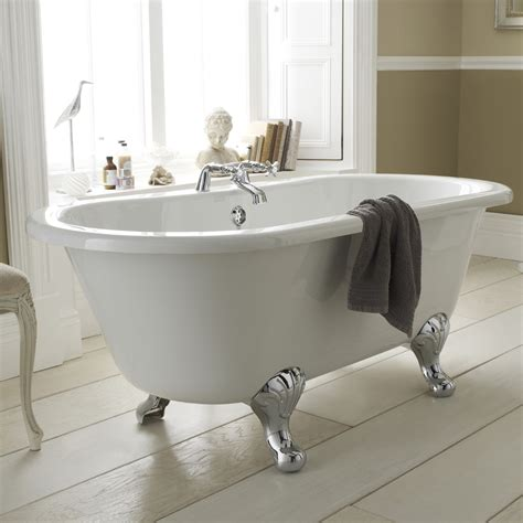 Grosvenor 1500mm Double Ended Free Standing Bath With