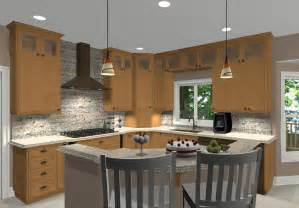 corner kitchen island different island shapes for kitchen designs and remodeling