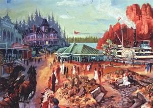 Art Concept Paris : frontierland disneyland paris dan gooze walt disney ~ Premium-room.com Idées de Décoration