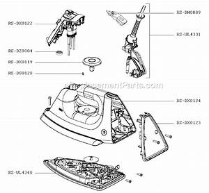 Rowenta Dx8750u1 Parts List And Diagram