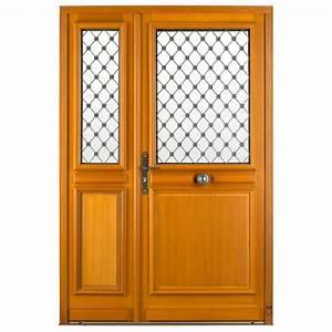 porte d39entree bois martiniere pasquet menuiseries With portes d entrée bois