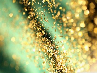 Glitter Background Bokeh Backgrounds Desktop Shiny Gold