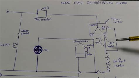 free refrigerator wiring diagram in