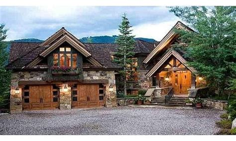 Small Lodge Style Homes Mountain Lodge Style Home, Lodge