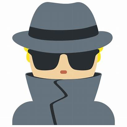 Emoji Detective Meaning Skin Dark Tone Medium