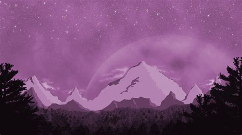 Pink Mountain Abstract HD Wallpaper 1920x1080 (1080p