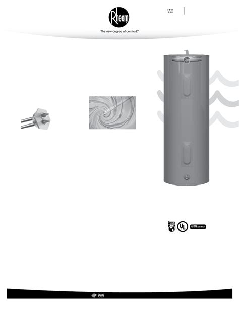 Rheem Professional Classic Series Standard Electric