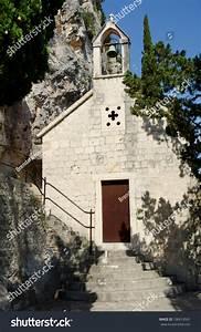 Church On Mount Marjan In Split  Dalmatia  Croatia Stock