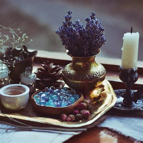 Wiccan Decor - altar inspiration magick witch witch aesthetic wicca