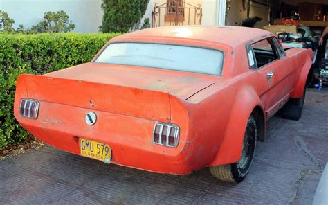 mustang 1965 street ford duck tail racer spoiler 70s racers barnfinds