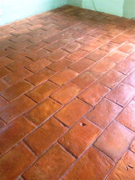 quarry tile floor sealing quarry tiled floors cleaning and sealing