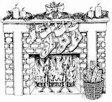 Coloring Printable Fireplace Hard Adults Colouring Difficult Drawing Coloriages Coloriage Adult Victorian Kerstmis Holiday Xmas Kleurplaten Result Dessin Enregistree Depuis sketch template