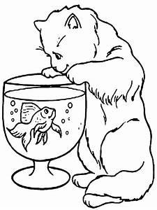 89 Dibujos de gatos para imprimir y colorear Colorear imágenes