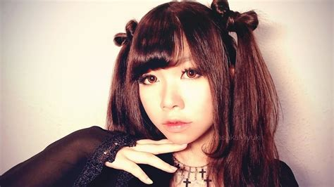 cute ribbon twintails hairstyle japanese style curled