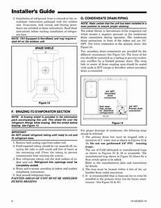 Trane Air Handler  Indoor Blower U0026evap  Manual L0905018