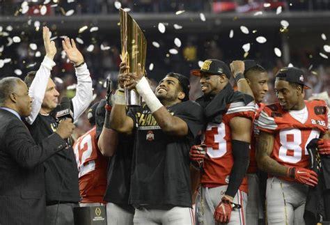 ohio state wins  cfb national championship