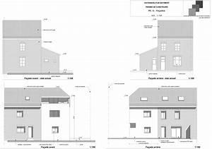 plans et permis de construire exemple d39un plan d With maison a construire plan