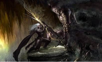 Drizzt Dragons Dungeons Artwork Backgrounds Desktop Fantasy