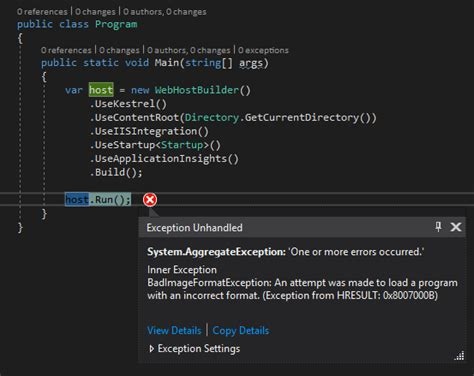 asp net core with net 4 6 2 and 2017 rc stack overflow