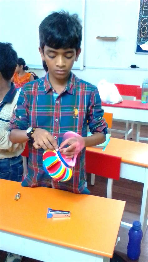 lantern making competition hindustan international school