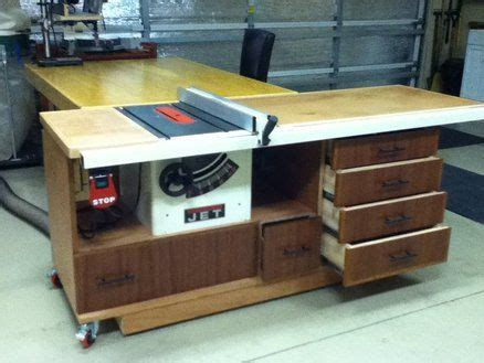 tablesaw workstation   jet contractor