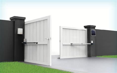 motorisation portail solaire motorisation portail battant solaire scs 1 eco energy scs sentinel