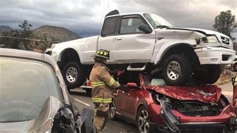 Passengers Safe After Crazy Car Crash In Prescott