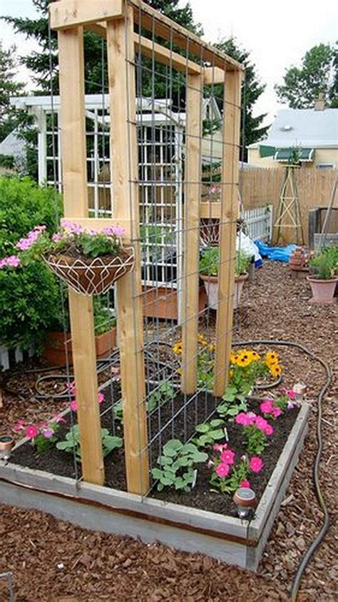 diy garden arch 20 awesome diy garden trellis projects hative