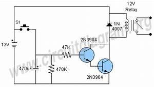 two simple 24 hour timer circuit schematics readingratnet With photo timer circuit