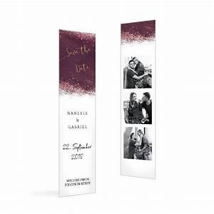 Save The Date Karte : save the date karte mit aquarell in bordeaux und ~ A.2002-acura-tl-radio.info Haus und Dekorationen