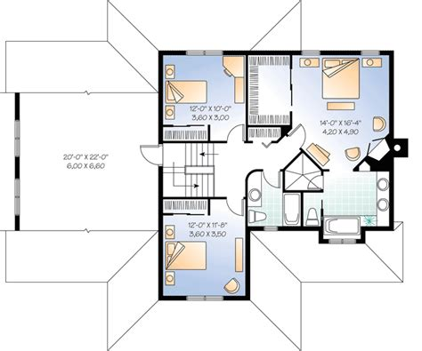 home office floor plans home office with separate entrance 21634dr architectural designs house plans