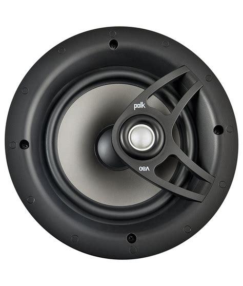 Polk Audio Ceiling Speakers Sc60 by Polk Audio V80 In Ceiling Speaker Overview Audioholics