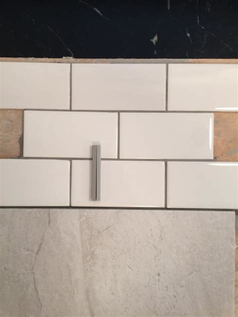 warm gray grout grout color for subway tile please look at photo s