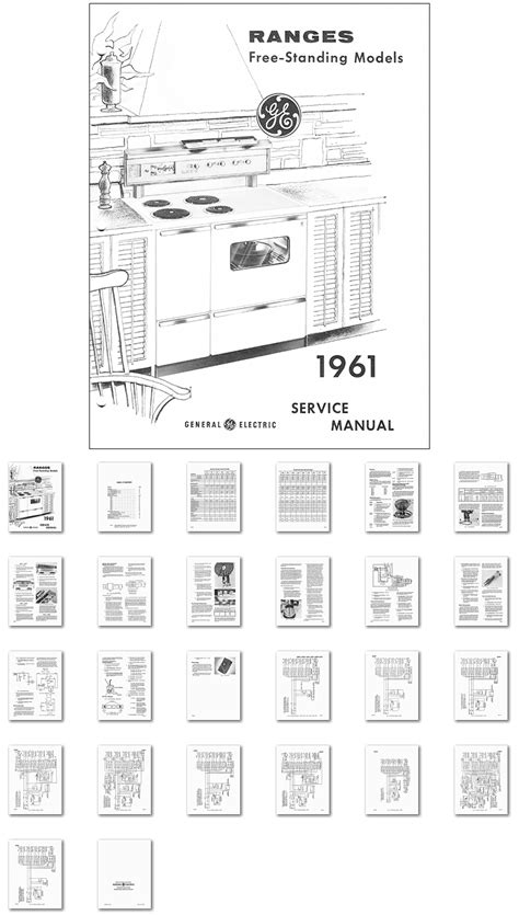 kitchen range library  general electric range oven