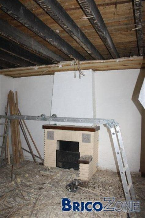 isoler un plafond du bruit gitage en bois isolation accoustique