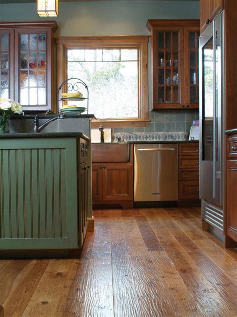 wood floors in kitchens 8 flooring trends to try hgtv 1580