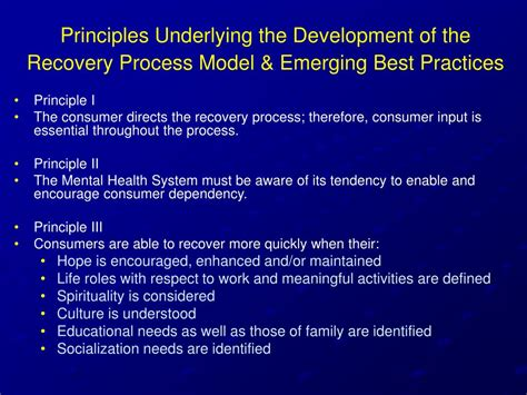 Ppt  Recovery Concepts And Models In Mental Health Care Overview And Applications Powerpoint