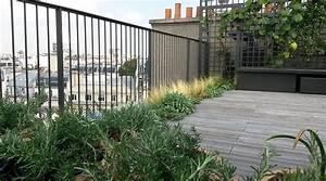 amenagement dune terrasse sur les toits jardins de l With photos terrasses et jardins 2 amenagement terrasses jardins de lorangerie