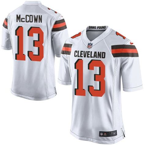 nfl cleveland browns youth limited white road nike jersey