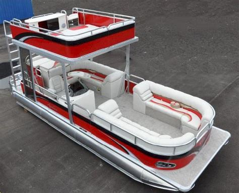 Used Pontoon Boats With Upper Deck For Sale by New 2014 Tahoe Pontoon Funship Double Decker Harrodsburg