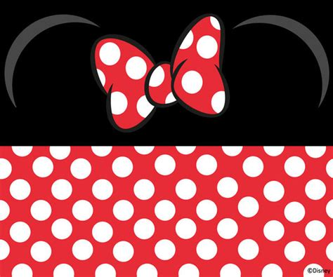 Minnie Mouse Bow Iphone Wallpaper