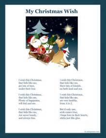 Printable Christmas Poems