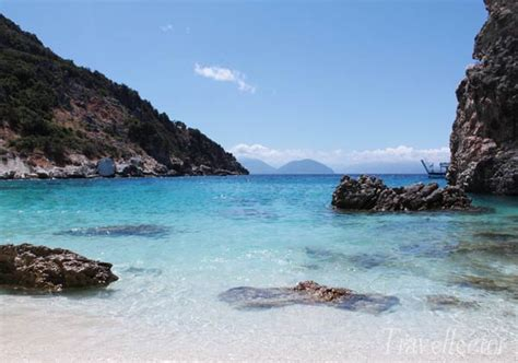 Agiofili Beach, Beautiful White Beach In Lefkada