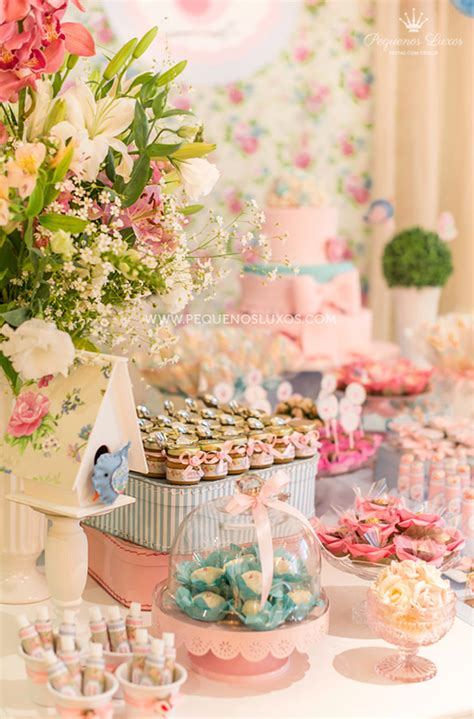 Kara's Party Ideas Little Birds Pink And Blue Party