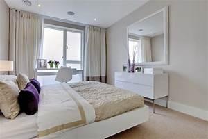 decoration chambre contemporaine exemples d39amenagements With photos de chambre contemporaine