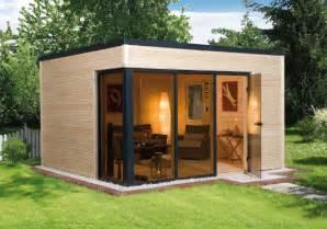 Le Selber Bauen Holz by Gartenhaus Weka 171 Wekaline 412 187 Flachdach Haus Mit Gro 223 Er