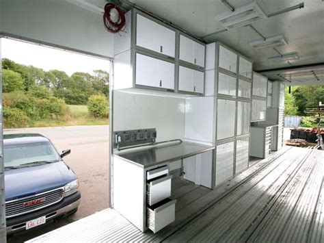 lightweight cabinets for trailers aluminum trailer file storage cabinets moduline cabinets