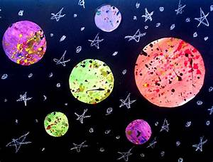 Sixth Grade Solar Systems | Lessons from the K-12 Art Room